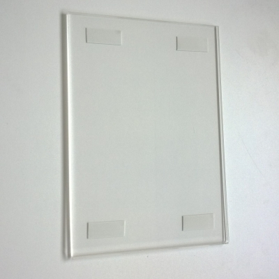 Wall Frame A4 vertical with double-sided tape | Acriglobal