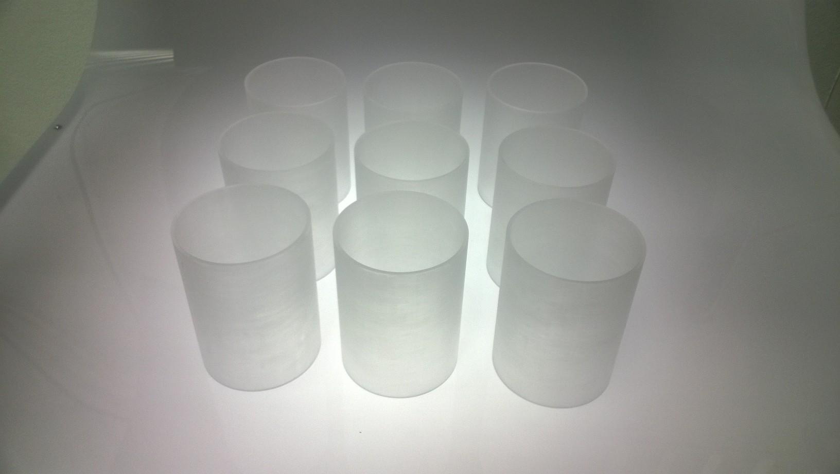 Frosted acrylic tube 3mm | Acriglobal